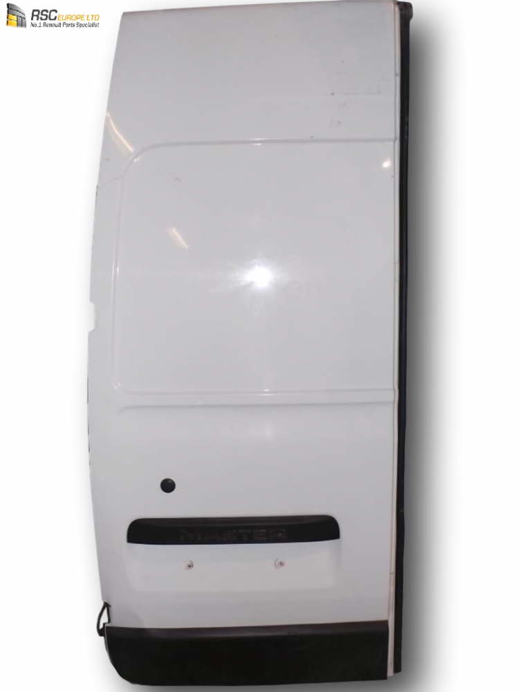 RENAULT MASTER III /VAUXHALL MOVANO LEFT REAR DOOR (WHITE) COLLECT ONLY